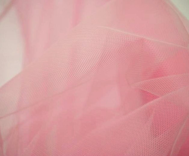 Tulle - rose pale