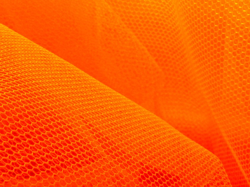 Tulle - orange fluo