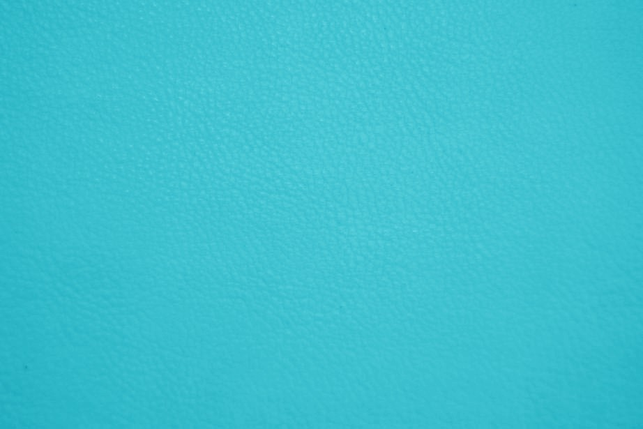 similicuir lisse - turquoise